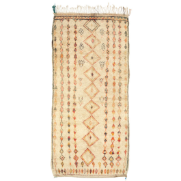 A LARGE BENI OURAIN MOROCCAN RUG