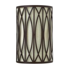 Bronze Transitional Wall Light