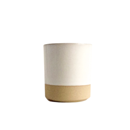 French Stoneware Basic Tumbler Large - Ivory