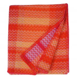 Grandes Rocques Lambswool Throw