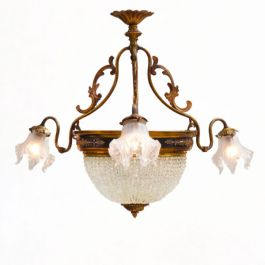 Antique French Belle Epoque Chandelier Late 19th Century