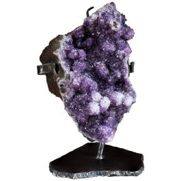 Mounted Amethyst Geode
