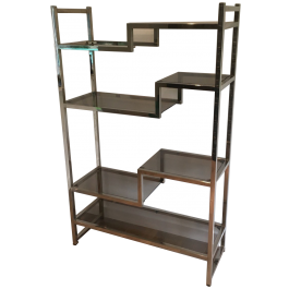 In The Style Of Willy Rizzo Design Shelves Unit