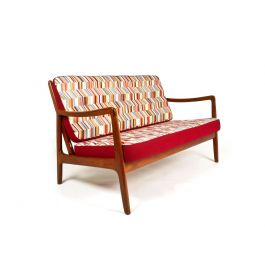 A Mid Century Teak Sofa by Ole Wanscher for France & Daverkosen, Danish 1950's