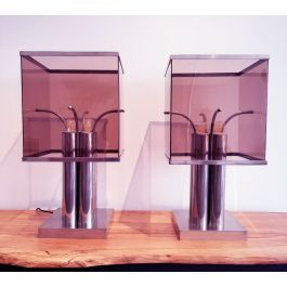 Table Lamps, Italy 1970s, set of 2
