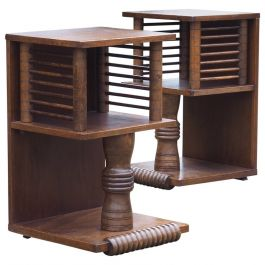 Pair of Charles Dudouyt Tables, circa 1930