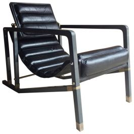 Late 20th Century Iconic Transat Chair by Eileen Gray for Aram