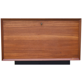 Mid-Century Danish Teak Record Player Cabinet by Poul Cadovius for Cado, 1960s