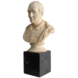 Late 19th Century Plaster Bust of the Duke of Wellington