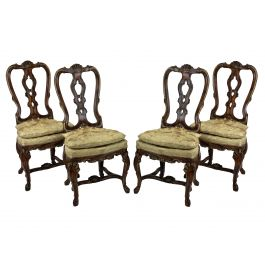 Four Fine George II Chairs