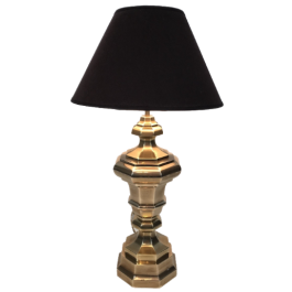 Brass Table Lamp. French. Circa 1970