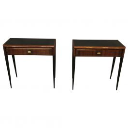 Pair of Italian Side Tables in the Style of Gio Ponti, 1950