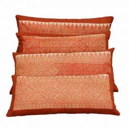 Antique Fez Embroidery Cushions, Made to Order