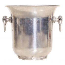 Mid-Century Modern Champagne Ice Wine Cooler Bucket, by Argit, France
