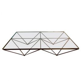 1981s B&B Italia Alanda Coffee Table By Paolo Piva