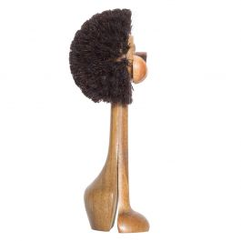 Midcentury Danish Modern Lion Brush Toy