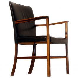 Ole Wanscher Rosewood Desk Chair, circa 1950