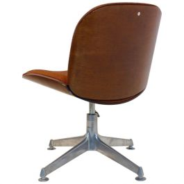 Ico Parisi Chair in Walnut for MIM, Roma Italy 1960s