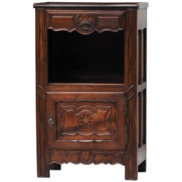 Provincial French Walnut Cabinet c1890