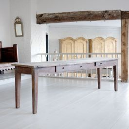 French Antique Workshop Table