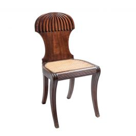 A Regency Mahogany Hall Chair by Gillows c.1815