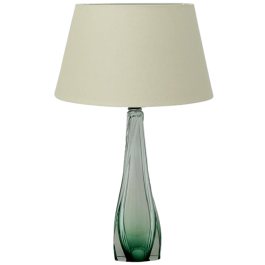 Val Saint Lambert crystal lamp