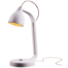 Heavy desk lamp