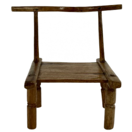 Mid 20th century African Baoulé chair, Ivory Coast