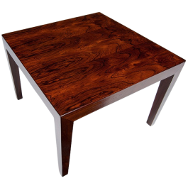Rosewood Coffee Table By Severin Hansen For Haslev, Danish 1960'S