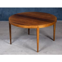 Mid-Century Danish Rosewood Coffee Table by Severin Hansen for Haslev Møbelsnedkeri, 1950s