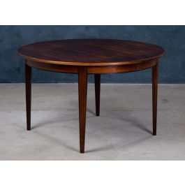 Mid-Century Rosewood Model 55 Dining Table from Omann Jun, 1960s