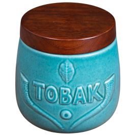Mid-Century Rosewood Tobacco Jar from Søholm