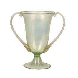 Twin-Handled Vase by Salviati & co.