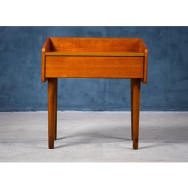 Nightstand with One Drawer in Teak, Denmark, 1960s