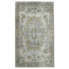 Hand-knotted Oriental Grey Decorative Overdyed Carpet