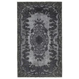 Handmade Oriental Grey One-of-a-Kind Over-dyed Rug