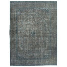 Handwoven Turkish Grey Unique Large Colorful Rug