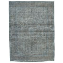 Handwoven Oriental Grey One-of-a-Kind Large Colorful Rug