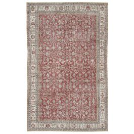Hand-knotted Oriental Red Traditional Vintage Carpet