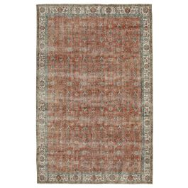 Handmade Oriental Red One-of-a-Kind Area Rug