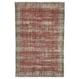 Hand-knotted Oriental Red Decorative Area Rug