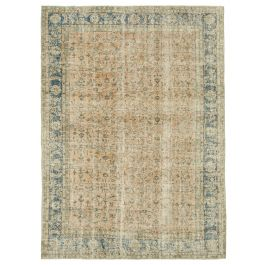 Hand-knotted Oriental Beige Antique Area Rug