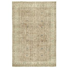 Hand-knotted Oriental Beige Decorative Area Rug