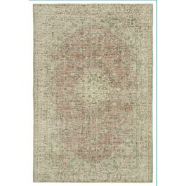 Hand-knotted Anatolian Beige Rustic Area Rug