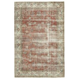 Hand-knotted Anatolian Beige Antique Area Rug