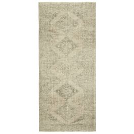 Hand-knotted Oriental Beige Traditional Vintage Carpet