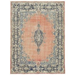 Hand-knotted Oriental Red Decorative Large Vintage Rug