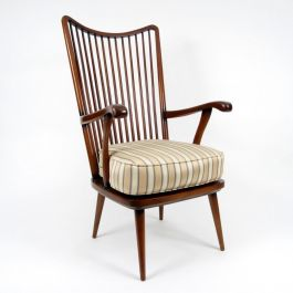 Rosewood Lounge Chair, 1960s