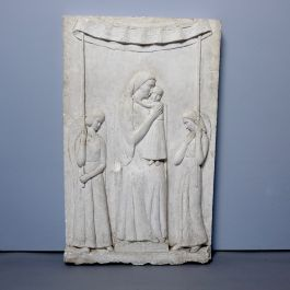 EARLY 20THC PLASTER MAQUETTE
