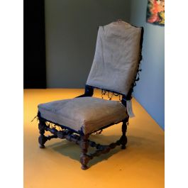 2 Small Late 19Thc Chairs
